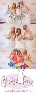Brides4fun bruidsjurken passen voor de lol in Den Haag